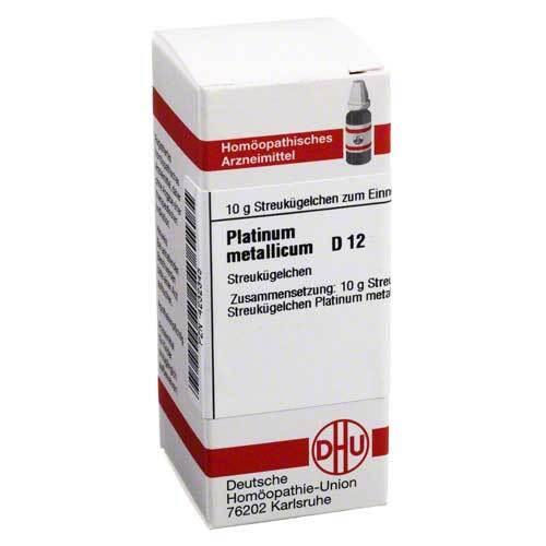 Platinum metallicum D 12 Globuli - 1