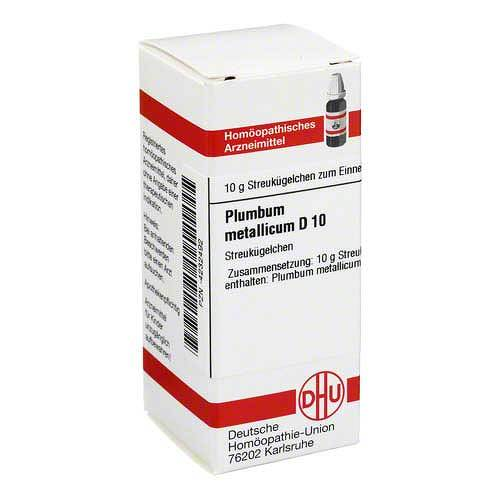 Plumbum metallicum D 10 Globuli - 1