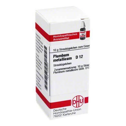 Plumbum metallicum D 12 Globuli - 1