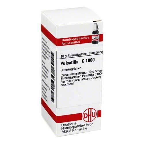 DHU Pulsatilla C 1000 Globuli - 1