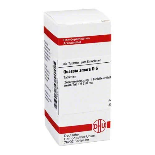 DHU Quassia D 6 Tabletten - 1