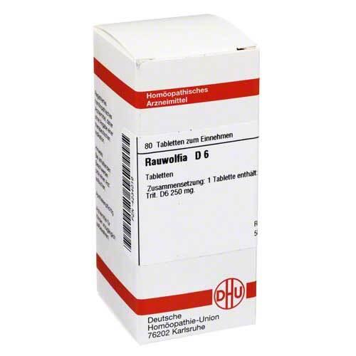 DHU Rauwolfia D 6 Tabletten - 1