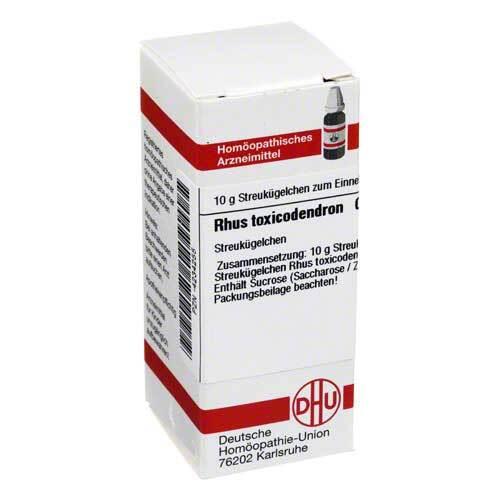 DHU Rhus toxicodendron C 12 Globuli - 1