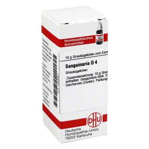 DHU Sanguinaria D 4 Globuli - 1