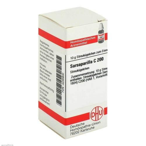 DHU Sarsaparilla C 200 Globuli - 1