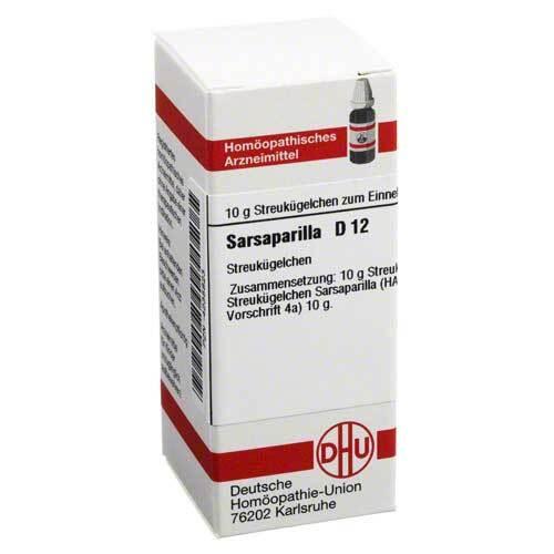 DHU Sarsaparilla D 12 Globuli - 1