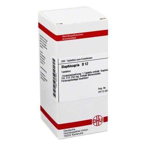 DHU Staphisagria D 12 Tabletten - 1