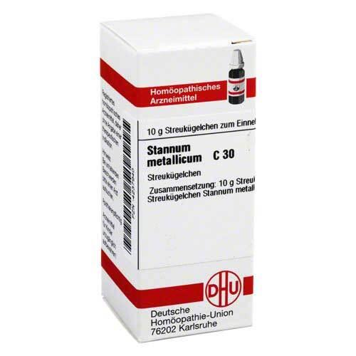 Stannum metallicum C 30 Globuli - 1