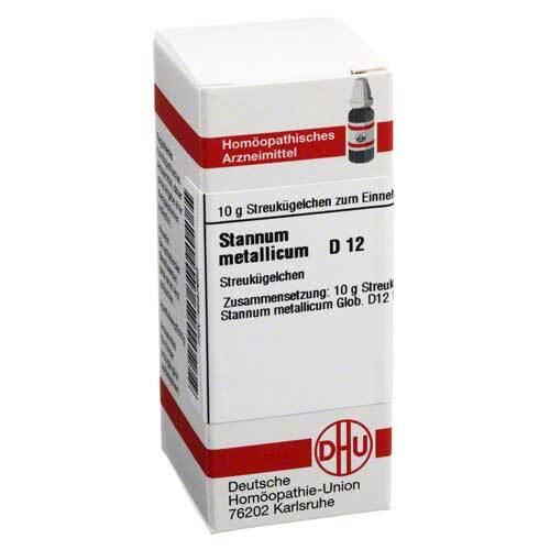 Stannum metallicum D 12 Globuli - 1