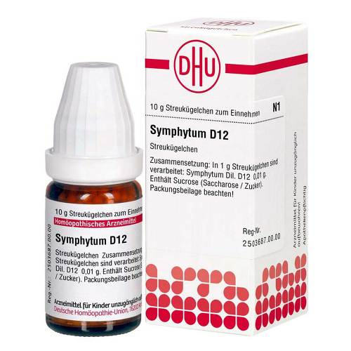 DHU Symphytum D 12 Globuli - 1