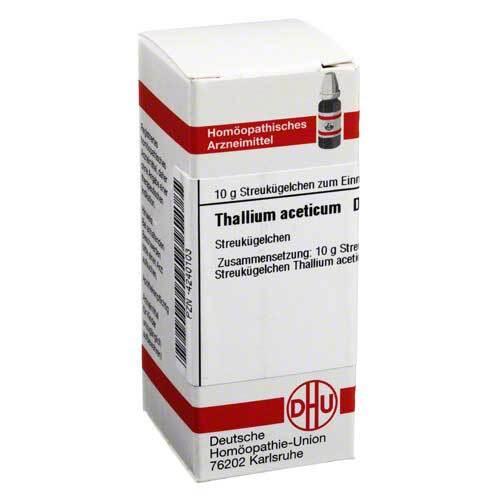 Thallium aceticum D 12 Globuli - 1