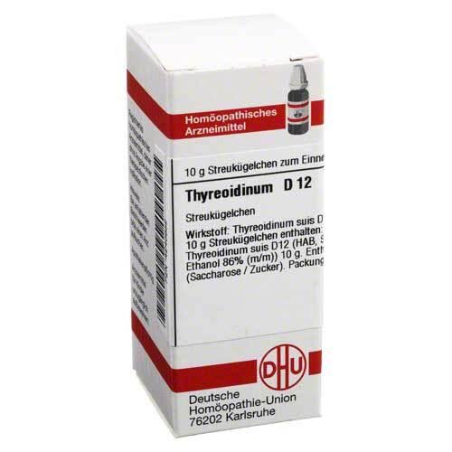 Thyreoidinum D 12 Globuli - 1
