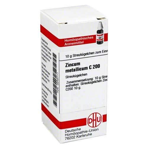 DHU Zincum metallicum C 200 Globuli - 1