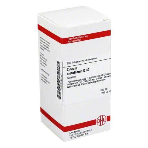 DHU Zincum metallicum D 30 Tabletten - 1