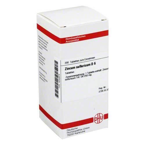 DHU Zincum sulfuricum D 6 Tabletten - 1