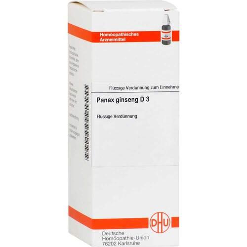 Panax Ginseng D 3 Dilution - 1
