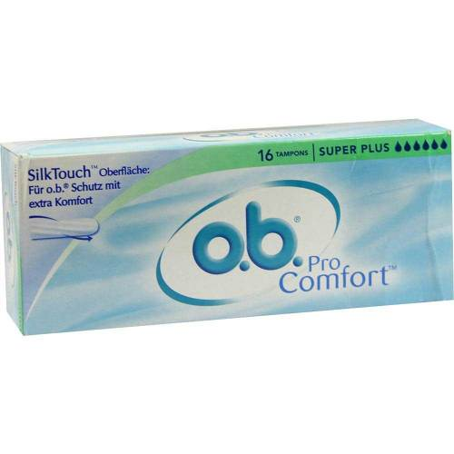 O.B. Tampons Procomfort super plus - 1