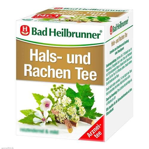 Bad Heilbrunner Tee Hals- und Rachen Filterbeutel - 1
