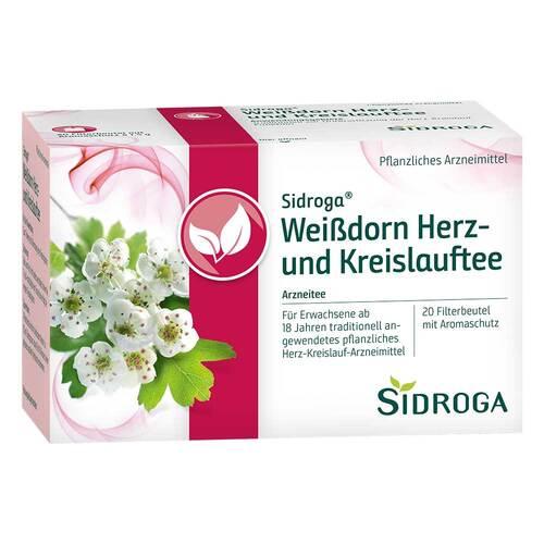 Sidroga Weißdorn Herz- und Kreislauftee Filterb. - 1