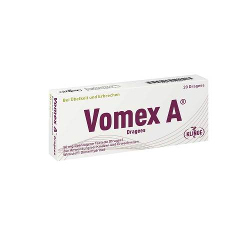 Vomex A Dragees N - 1