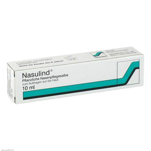 Nasulind Pflanzliche Nasenpflegesalbe - 1