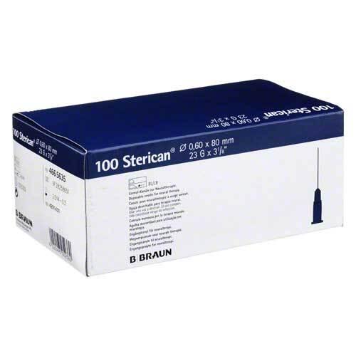 Sterican Kanülen 23Gx3 1 / 5 0,6x80 mm - 1
