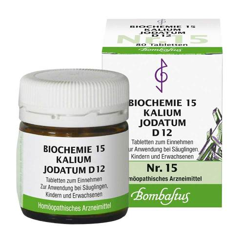 Biochemie 15 Kalium jodatum D 12 Tabletten - 1