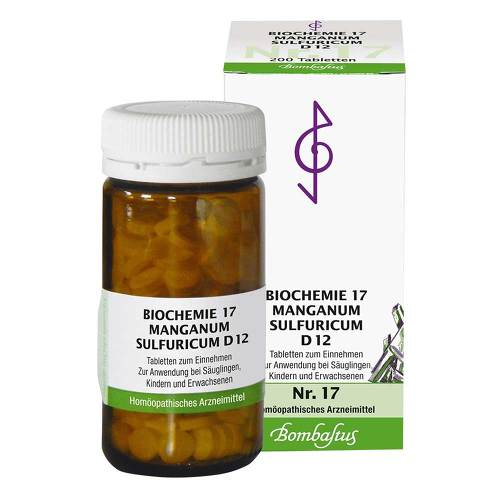 Biochemie 17 Manganum sulfuricum D 12 Tabletten - 1