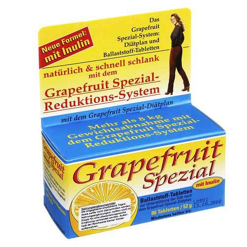 Grapefruit Spezial Diätsystem Tabletten - 1