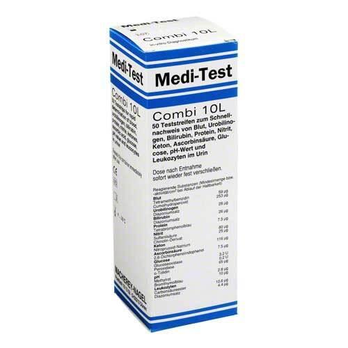 Medi Test Combi 10 L Teststr - 1