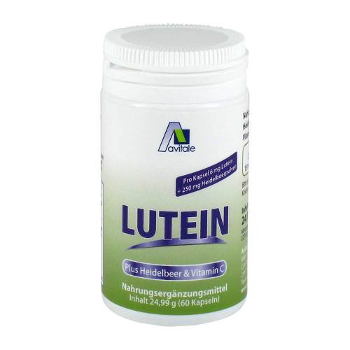 Lutein Kapseln 6 mg + Heidel - 1