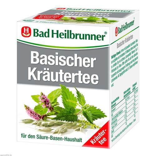 Bad Heilbrunner Tee Basische Kräuter Filterbeutel - 1