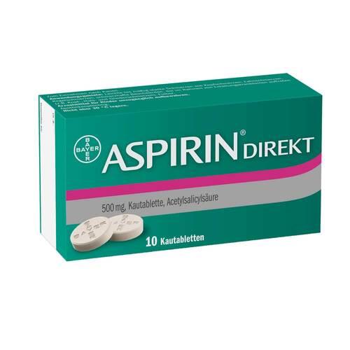 Aspirin Direkt Kautabletten - 1