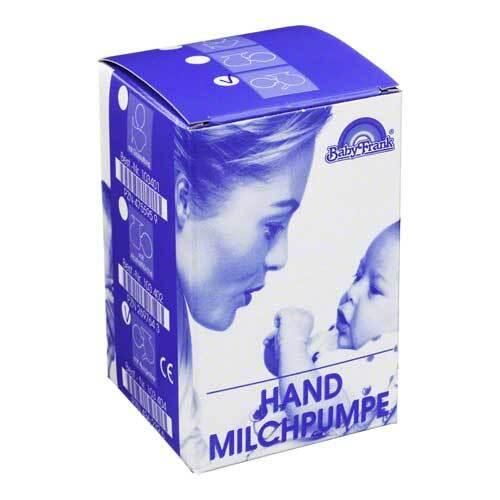 Milchpumpe Frank Hand mit Auff - 1