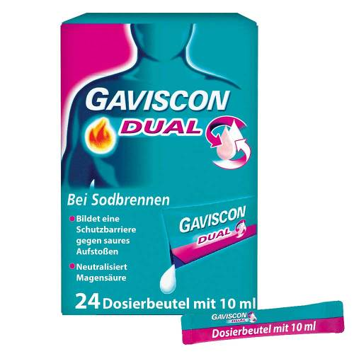 Gaviscon Dual 500mg / 213mg / 325mg Suspension im Beutel - 1