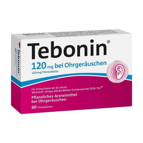 Tebonin 120 mg bei Ohrgeräuschen Filmtabletten - 1