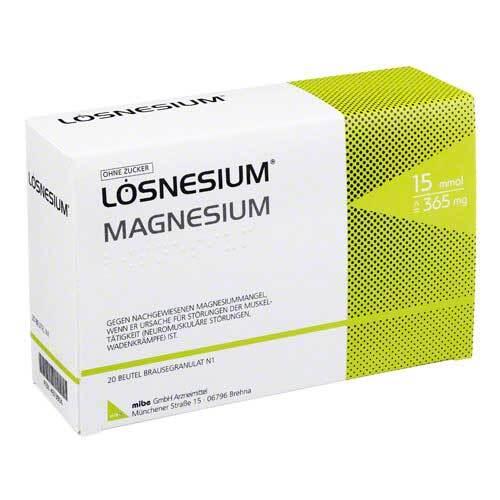 Lösnesium Brausegranulat Beutel - 1