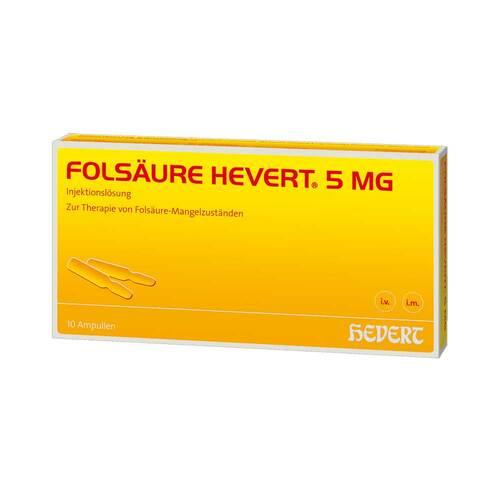 Folsäure Hevert 5 mg Ampullen - 1