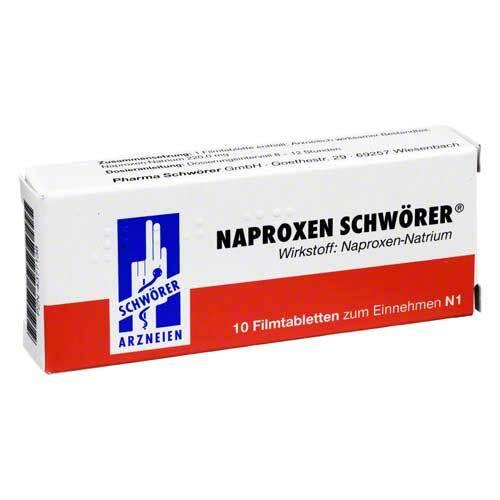 Naproxen Schwörer Filmtabletten - 1