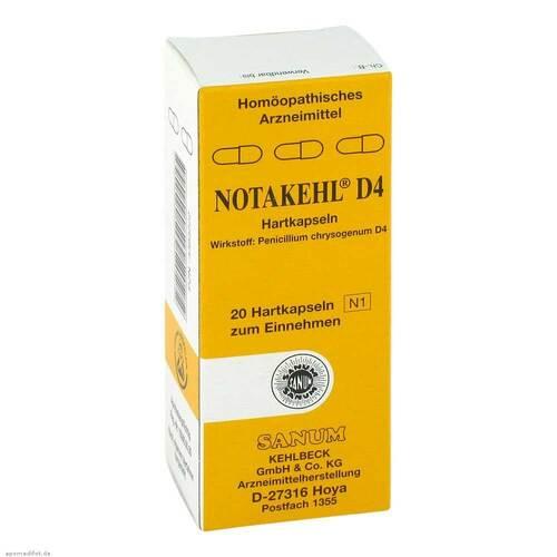 Notakehl D 4 Kapseln - 1