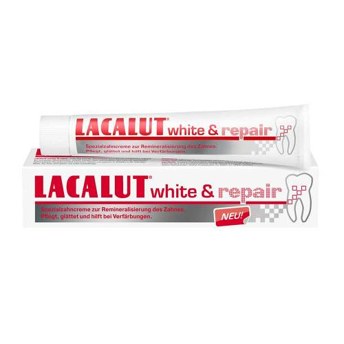 Lacalut white & repair Zahncreme - 1
