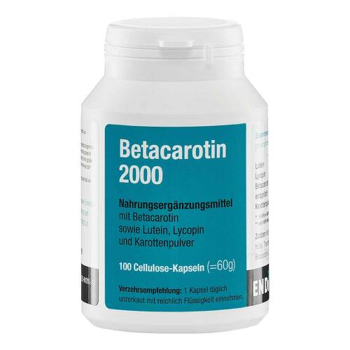 Betacarotin 2000 Kapseln - 1