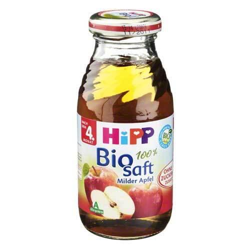Hipp Bio Saft 100% Milder Apfel - 1