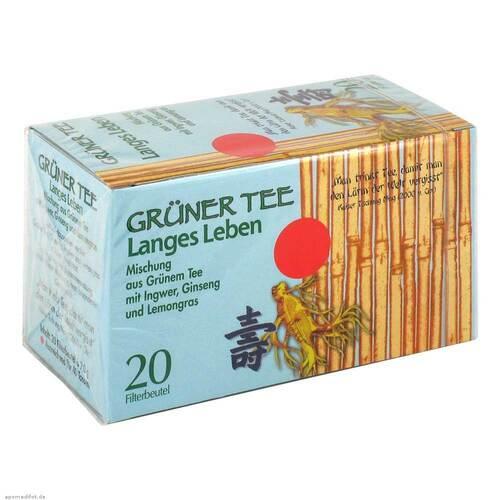 Grüner Tee + Ingwer + Ginseng Filterbeutel - 1