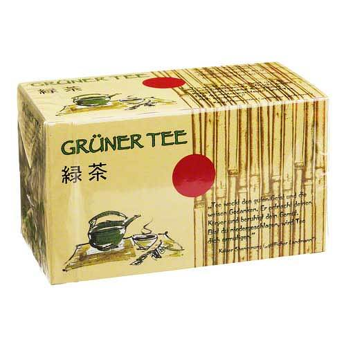 Grüner Tee Filterbeutel - 1