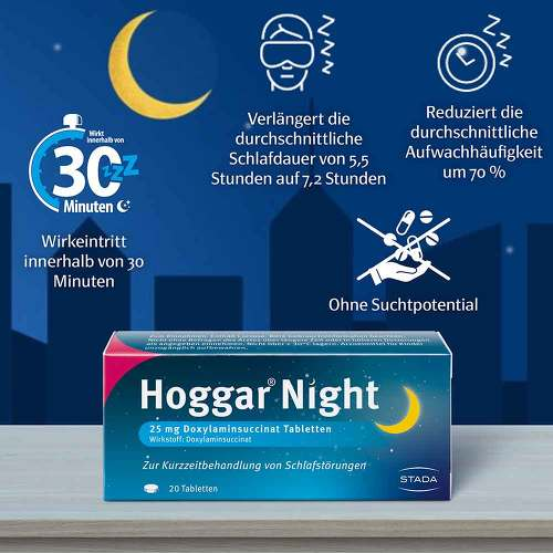 Hoggar Night Tabletten - 3
