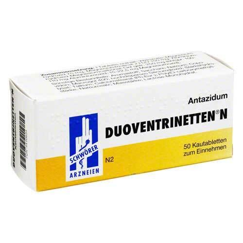Duoventrinetten N Kautabletten - 1
