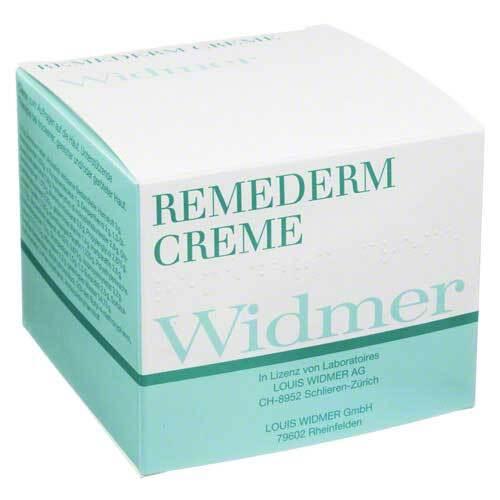 Widmer Remederm Creme unparfümiert - 1