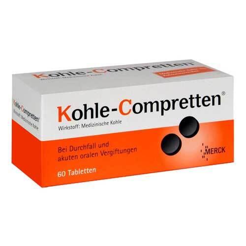 Kohle Compretten Tabletten - 1
