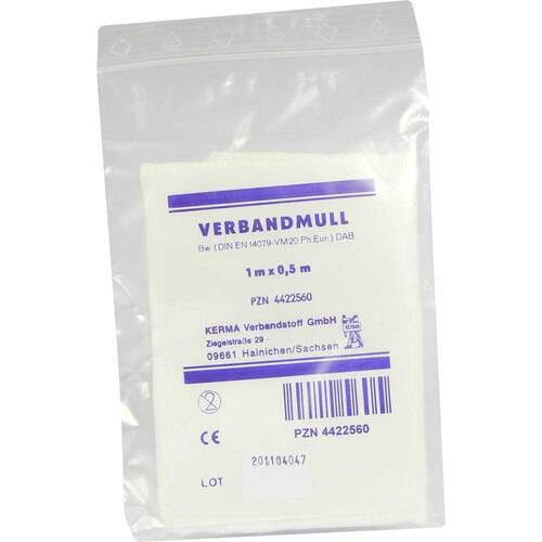 Verbandmull 0,5x1m unsteril - 1